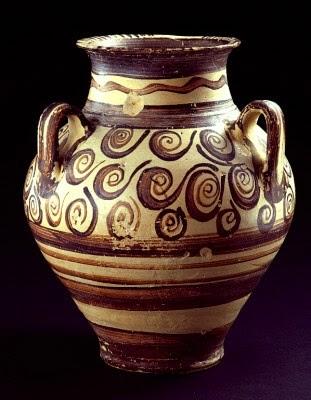 Late Minoan jug, 1200s BCE