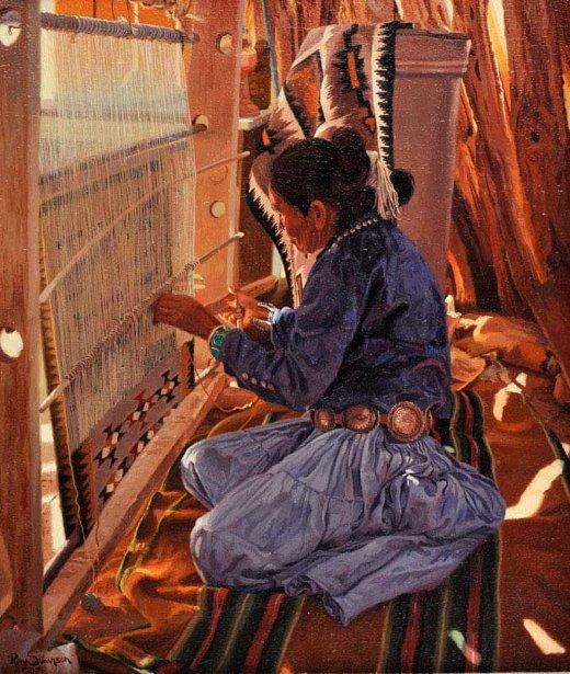 navajo-weaver